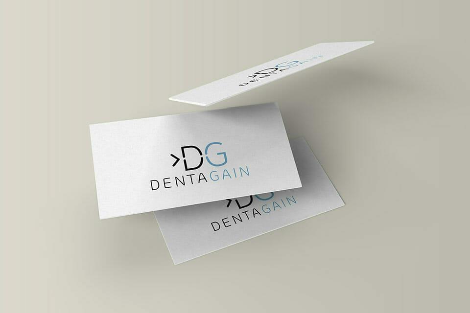 Vorschaubild DentaGain Logoentwicklung