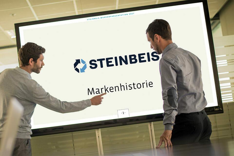 Steinbeis Papier Markenpräsentation Vorschau