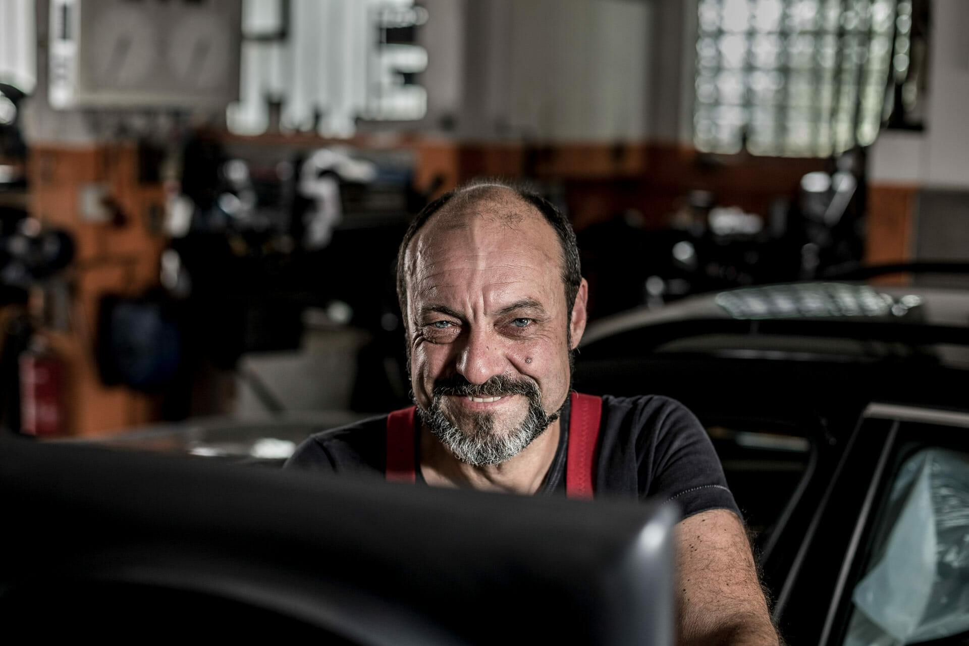Müllers Werkstatt Mitarbeiter-Portrait: Egon