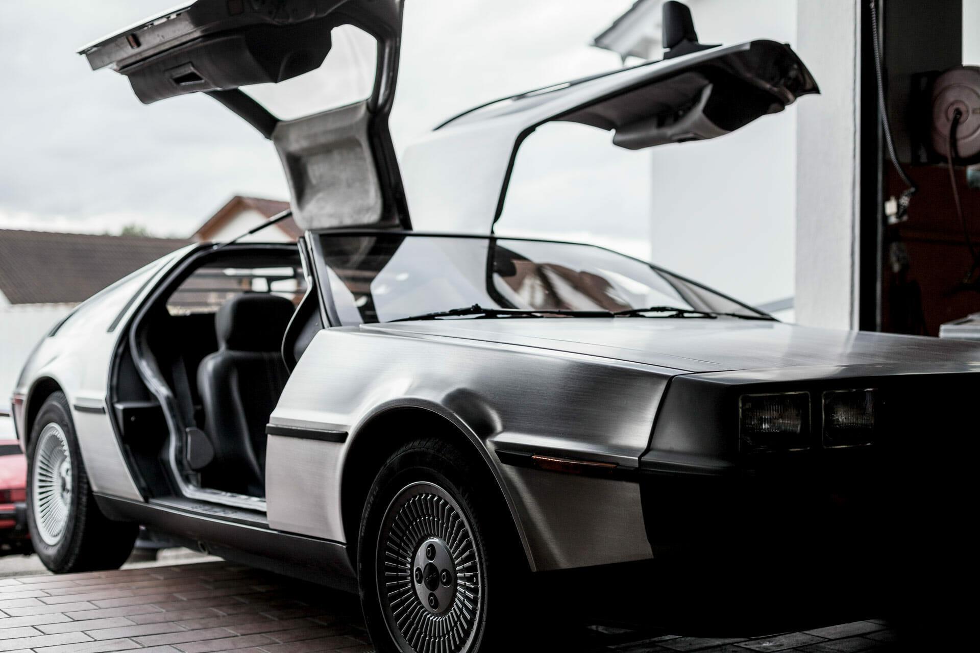 Müllers Werkstatt Restauration: DeLorean DMC-12