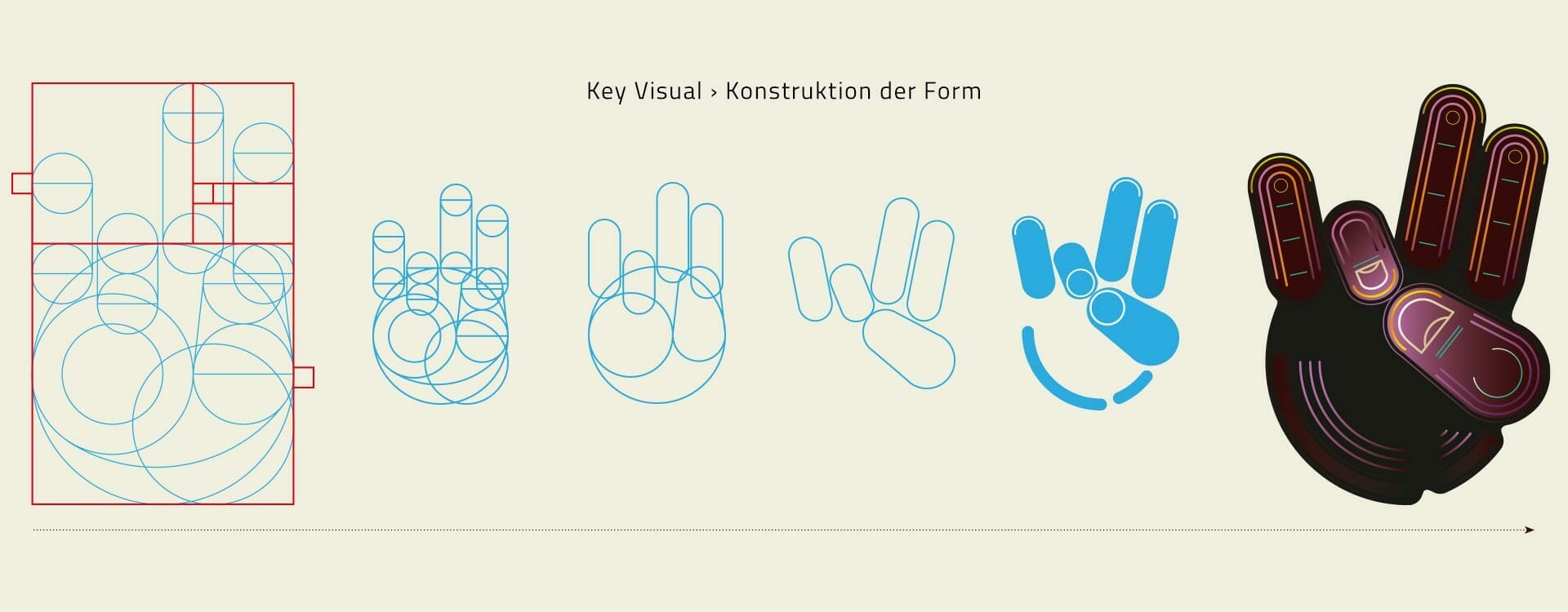 SOL Key Visual Konstruktion