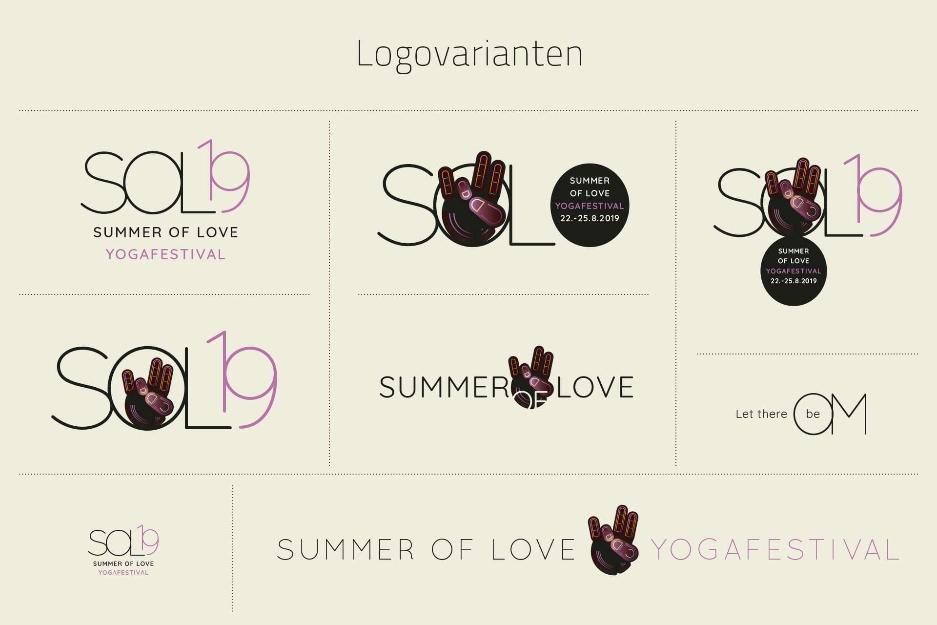 SOL19 Logovarianten